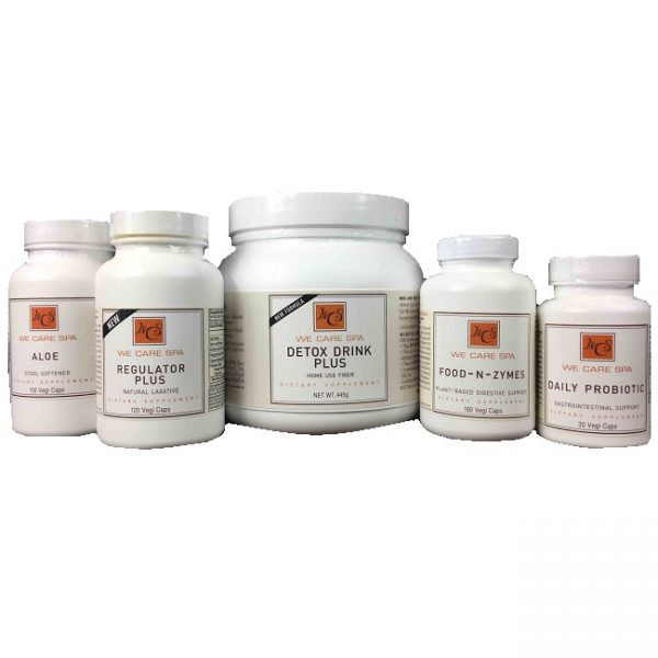 6-Month Auto reorder of We Care 365 Digestive Solutions system and We Care 365 Nutritional Solutions system w/FREE SHIPPING for continental US customers